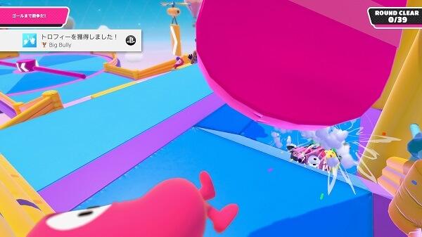 フォールガイズ ゲーム画面
