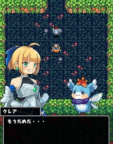 魔女の迷宮 ゲーム画面