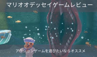 マリオオデッセイ ゲームレビュー