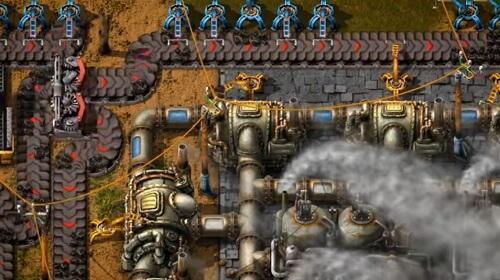 Factorio ゲーム画面1