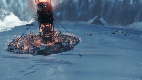 フロストパンク(Frostpunk) 横から見た画面