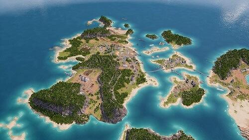トロピコ6 島々