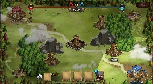 アンクラウン 戦闘画面